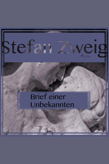 Brief einer Unbekannten (Ungekürzt) - cover