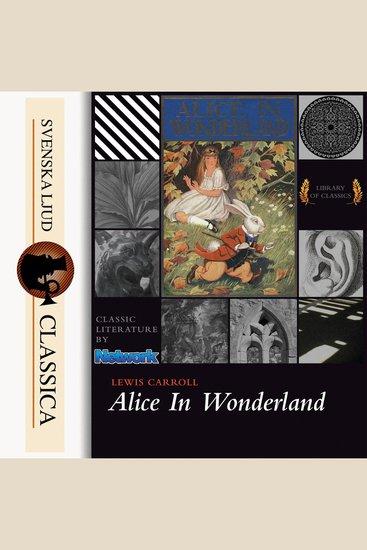 Alice's Adventures in Wonderland (unabridged) - cover
