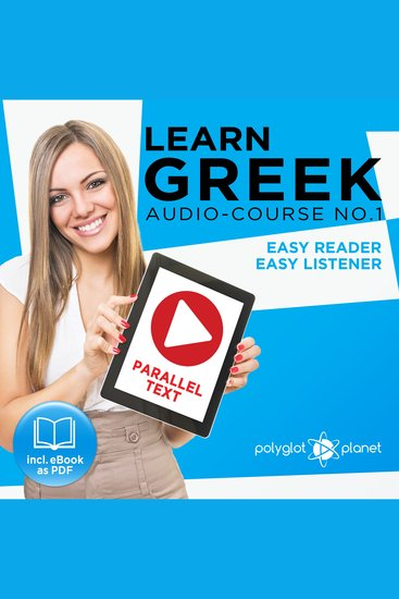 Learn Greek - Audio-Course No 1 - Easy Reader Easy Listener - cover