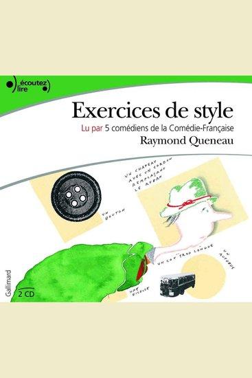 Exercices de style - cover