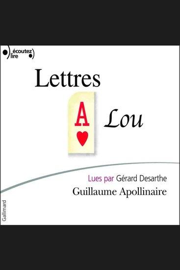 Lettres à Lou - cover