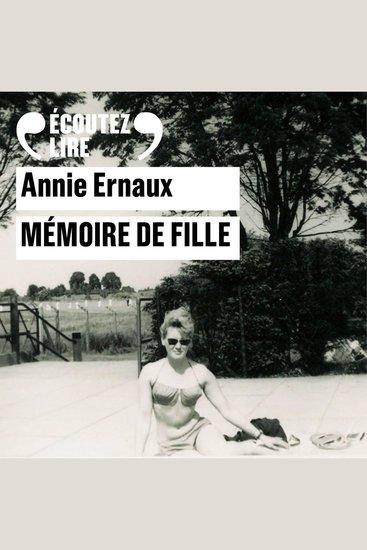Mémoire de fille - cover
