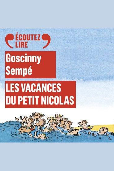 Les vacances du Petit Nicolas - cover