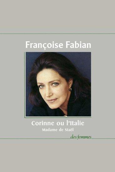 Corinne ou l'Italie - cover
