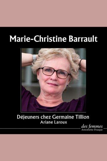 Déjeuners chez Germaine Tillion - cover