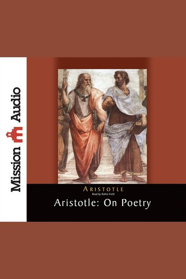 Aristotle: On Poetry - cover