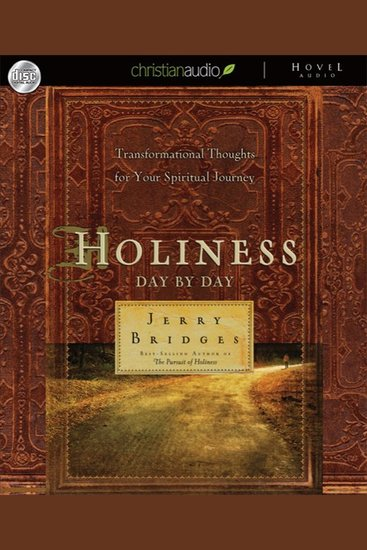 Holiness: Day by Day - Transformational Thoughts for Your Spiritual Journey - cover