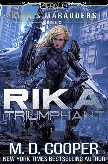 Rika Triumphant - Rika's Marauders #3 - cover