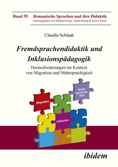 Fremdsprachendidaktik und Inklusionspädagogik - Herausforderungen im Kontext von Migration und Mehrsprachigkeit - cover