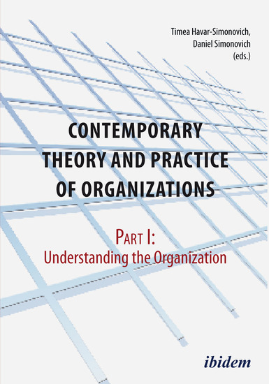 Contemporary Practice and Theory of Organisations – Part 1: - Understanding the Organisation - cover