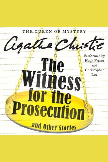 The Witness for the Prosecution and Other Stories - cover