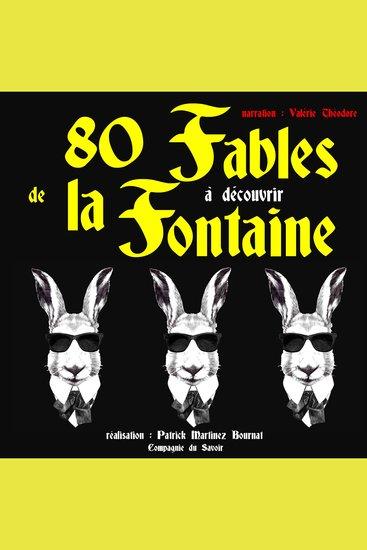 80 fables de La Fontaine à découvrir - cover