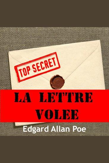 La lettre volée - cover