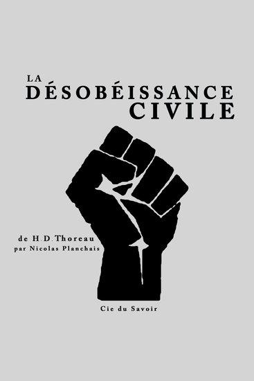 La désobéissance civile - cover