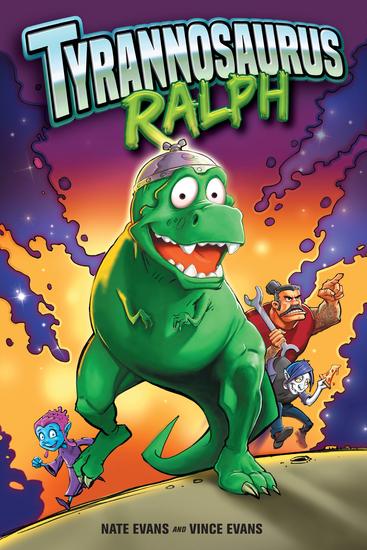 Tyrannosaurus Ralph - cover