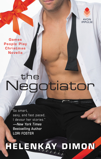 The Negotiator - A Games People Play Christmas Novella - cover
