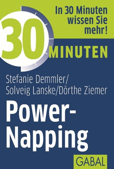 30 Minuten Power-Napping - cover