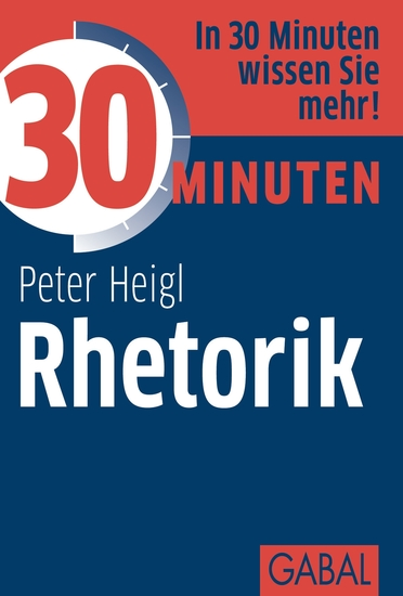30 Minuten Rhetorik - cover