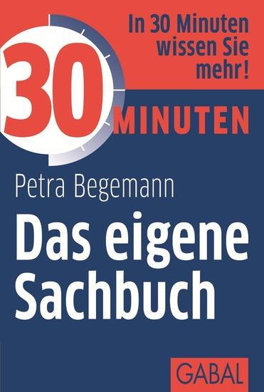 30 Minuten Das eigene Sachbuch - cover