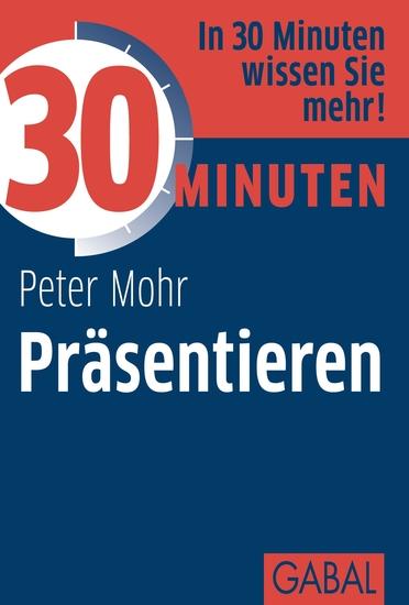 30 Minuten Präsentieren - cover