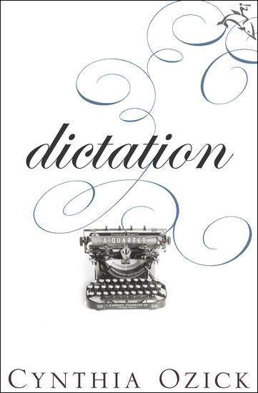 Dictation - A Quartet - cover