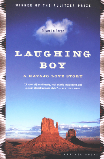 Laughing Boy - A Navajo Love Story - cover