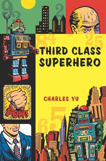 Third Class Superhero - cover