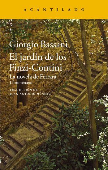 El jardín de los Finzi-Contini - La novela de Ferrara Libro tercero - cover