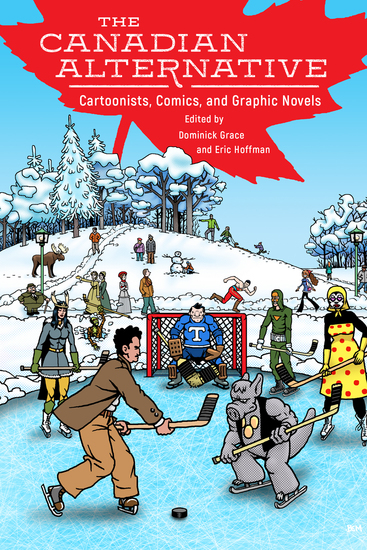 The Canadian Alternative - Cartoonists Comics and Graphic Novels - cover