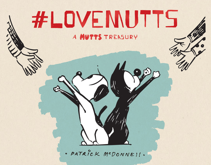 #LoveMUTTS - A MUTTS Treasury - cover