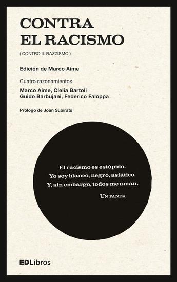 Contra el racismo - (Contro il razzismo) - cover