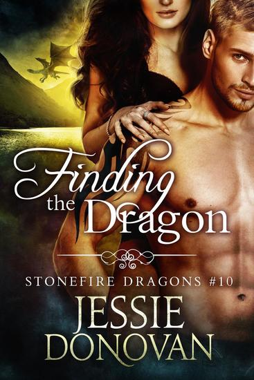 Finding the Dragon - Stonefire Dragons #10 - cover