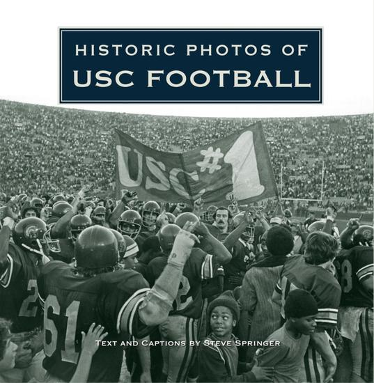 Historic Photos of USC Football - cover