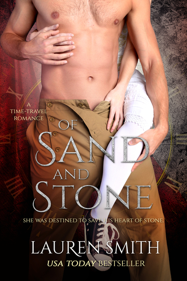 Of Sand and Stone - A Time Travel Romance - cover