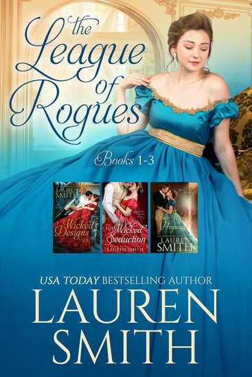 The League of Rogues: Books 1-3 - cover