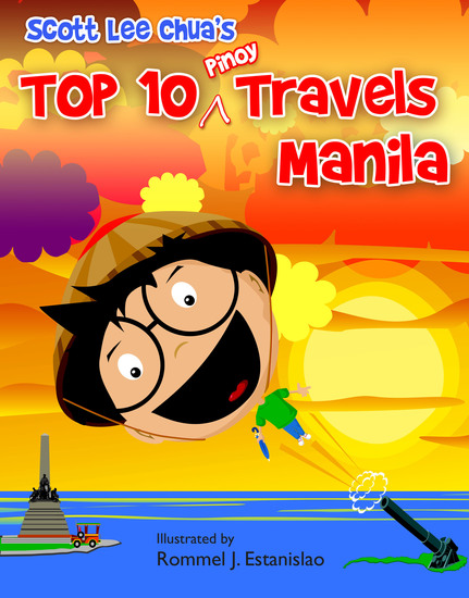 Top Ten Pinoy Travels: Manila - cover