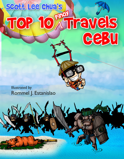Top Ten Pinoy Travels: Cebu - cover
