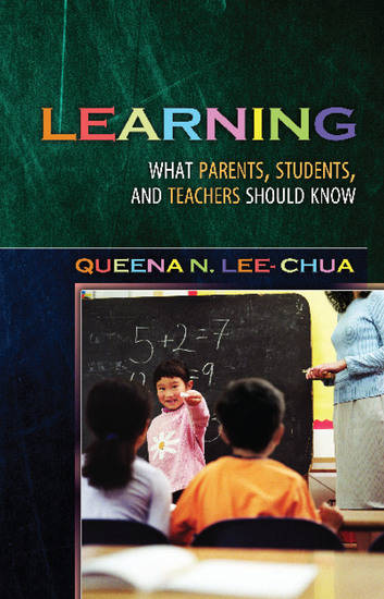 Learning - What Parents Students and Teachers Should Know - cover
