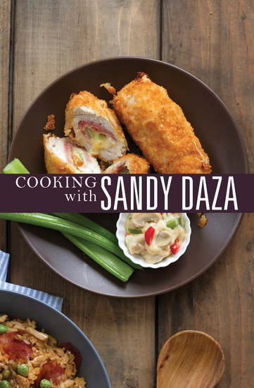 Cooking with Sandy Daza - cover
