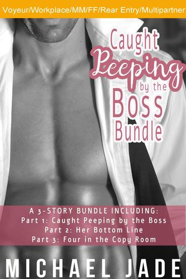 Caught Peeping by the Boss Bundle - cover
