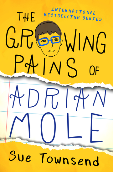The Growing Pains of Adrian Mole - cover