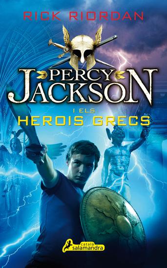 Percy Jackson i els herois grecs - cover