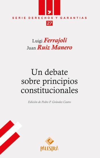 Un debate sobre principios constitucionales - cover
