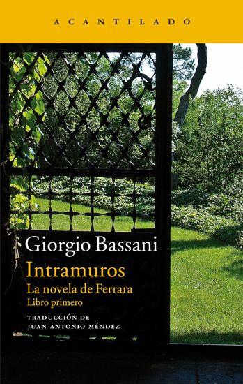 Intramuros - La novela de Ferrara Libro primero - cover