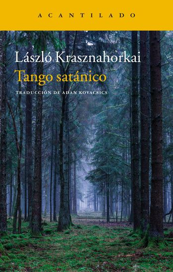 Tango satánico - cover