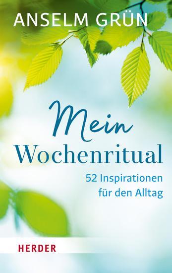 Mein Wochenritual - 52 Inspirationen für den Alltag - cover