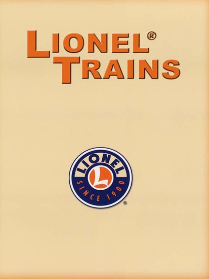 Lionel Trains - A Pictorial History of Trains and Their Collectors - cover