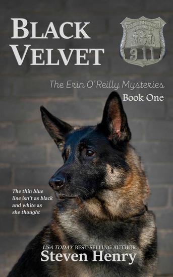Black Velvet - The Erin O'Reilly Mysteries #1 - cover