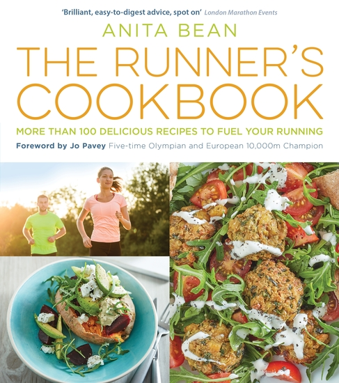 The Runner's Cookbook - More than 100 delicious recipes to fuel your running - cover