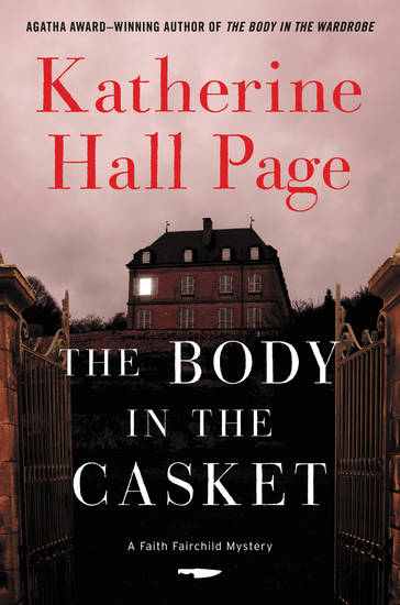 The Body in the Casket - A Faith Fairchild Mystery - cover